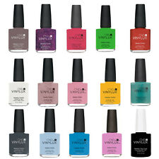 CND Vinylux Weekly Nail Polish. Buy 1 Get 1 at 50% Discount. Full-Size Bottle.