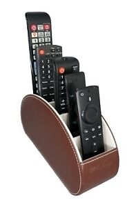 MDC FANSY Remote Control HolderWith 5 Compartments Caddy Storage