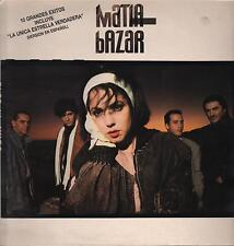 """MATIA BAZAR -RARO LP 33 GIRI SPAGNA OMONIMO """" MATIA BAZAR """""""