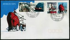 AAT - 2003 'ANTARCTIC SHIPS' Mawson Base First Day Cover [C1304]