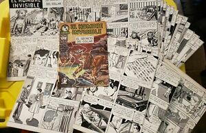 1964 Invisible Man Comic from Mexico w/ Proof Sheets El Hombre de Invisible #15