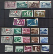 Switzerland 1949-54 Five mint sets