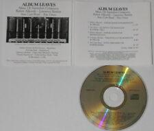 Lawrence Bartlett Robert Allworth Eric Gross Ann Carr-Boyd  Australia cd