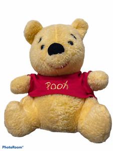 "Winnie the Pooh Bear Sears Gund Soft Plush Stuffed Animal Vintage 12"""
