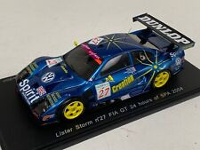 1/43 Spark Models Lister Storm Car #27 FIA GT 24 Hours of Spa 2004  S0635 D.W.
