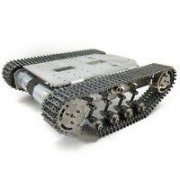 TS200 Metal Smart Tank Chassis Robot Kit Shock Absorber 5-10kg Unfinished tpys