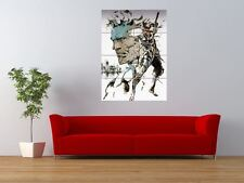 METAL GEAR SOLID SNAKE VIDEO GAME GIANT ART PRINT PANEL POSTER NOR0058