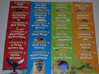 LOT 24 ANIMALS Level A B C D Reading Books PreK Kindergarten Homeschool Guided