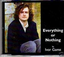 (278G) Ivor Game, Everything Or Nothing  - 2005 DJ CD