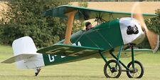 Z-21 Flitzer Staaken Bell Aeromarine Airplane Mahogany Wood Model Small New