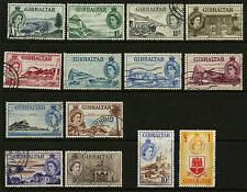 Gibraltar   1953  Scott # 132-145  USED Set