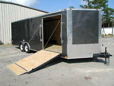 New 85 X 24 Enclosed Carhauler Cargo Trailer 10k Axles