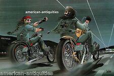 Dave David Mann Biker Art Motorcycle Poster Print Easyriders Hollyweed Sturgis