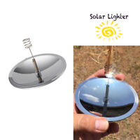 Solar Cigarettes Lighter Windproof Cigarette Tobacco Camping Lighters Gift New