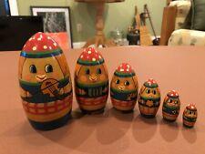 Six Piece Nesting Dolls