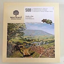 Wentworth Puzzle 500 Piece Machu Picchu Peru Wooden Landscape Jigsaw Puzzles & Geduldspiele