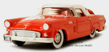 Oxford 1956 Ford Thunderbird Fiesta Red Die-Cast Metal Car 1/87 HO Scale #6004