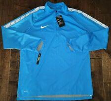 $110 Nike F.C. Shield Men's Soccer Dry Waterproof Training Zip Jacket XL Blue