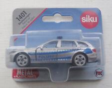 Siku 1459 1401 BMW 520i Touring Streifenwagen Polizei mit bedruckte Heckleuchten