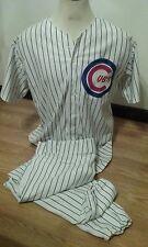Chicago Cubs Uniform Costume 46-48 Jersey 44 Pants #21 Baez Rizzo Bryant Arrieta