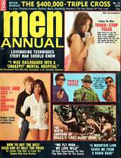 Men Annual 1974 Mitchell Werbell GOLD MINE CYCLE RAIDERS Mort Kunstler GIL COHEN