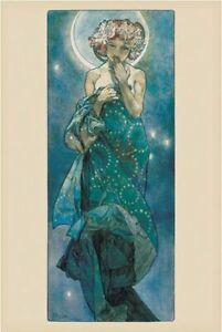 Poster Alphonse Marie Mucha Moon 61x91.5cm
