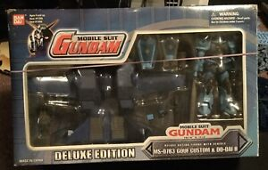 MSIA The 08 MS Team Gouf Custom & Dodai Ⅱ Deluxe edition Figure BANDAI Gundam