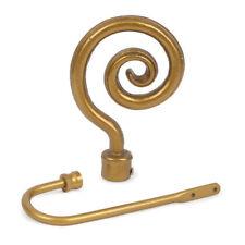 Accessoires dorés pour rideau et store