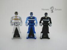 Power Rangers Super Megaforce Legendary Key Pack In Space Silver Blue Black Lot