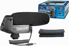 Vidpro XM-45 Professional Condenser Shotgun Video Microphone Includes Furry Wind