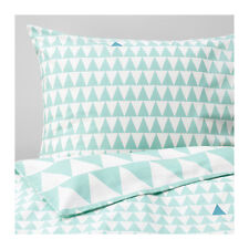 Stillsamt Duvet cover and pillowcase, light turquoise, 100% cotton, Nwt