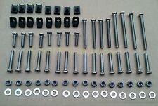 Land Rover Defender Front & 2nd Row Stainless Steel Door Bolts Bearmach Brand