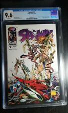 Spawn #9 - CGC 9.6 - 1st Appearance Of Medieval Spawn and Angela 1993
