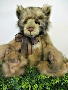Charlie Bear: GRUMPY...a superbly detailed CB that's so cuddly and lovable.