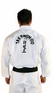 New, Taekwondo Uniforms, Fast Shipping.