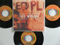 LOT OF 4 ' BILL WITHERS ' HIT 45's+1P(Copy)[Lean On Me]   THE 70's!