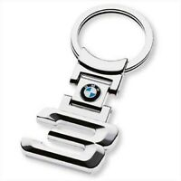 PORTACHIAVI BMW SERIE 3 M ACCIAIO CROMATO SERIE 1 3 7 X1 X3 X5 X6 120