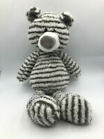 Official Gund Zag 4044071 Zebra Stripe Teddy Bear Plush Kids Stuffed Toy Animal