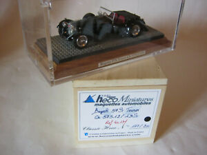 HECO-MINIATURES 1/43 401M BUGATTI 57S TOURER Chassis 57512/19S CLASSIC HECO