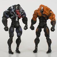 6'' Avengers Comic Hero Black Yellow Venom Movie Monster Venom Action Figure Toy