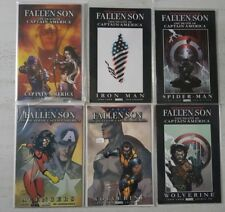 Fallen Son The Death of Captain America 1 to 5. Mix Variants