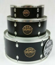 Stackable Drumset Tins 3 PCS