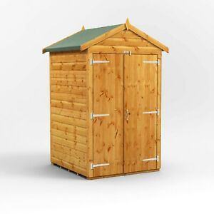 4x4 Power Apex Garden Shed Toolshed | Power Tool Sheds | Shed Size 4 x 4