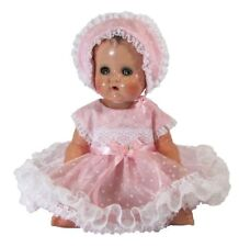Sweet Organdy Dress for 13' Tiny Tears Doll