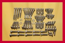Yamaha Virago XV 750 /88-97/ Stainless Steel Bolt-kit Screws Cover Motor Engine