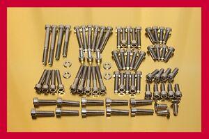 Yamaha Virago XV 1100 /85-98/ Stainless Steel Bolt-kit Screws Cover Motor Engine