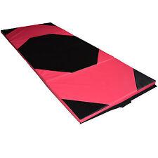 Turnmatte Bodenmatte Weichbodenmatte Gymnastikmatte klappbar 240x120x5 cm