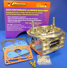 Proform 67100C Replacement Holley Carburetor Main Body 4150 650 700 750 800 CFM