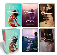 Judy Blume Teen Box Set (pb) Are You There God? Deenie,Forever,Tiger Eyes....