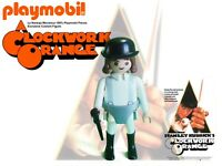 PLAYMOBIL Clockwork Orange, La Naranja Mecanica Figure 100% PLaymobil Pieces